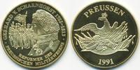 vergoldete Kupfer/Nickel Medaille 1991 BRD Gerhard von Scharnhorst präg... 7,00 EUR  zzgl. 1,20 EUR Versand