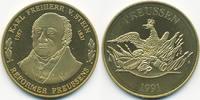 vergoldete Kupfer/Nickel Medaille 1991 BRD Karl Freiherr vom Stein präg... 7,00 EUR  zzgl. 1,20 EUR Versand