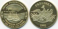 vergoldete Kupfer/Nickel Medaille 1991 BRD Preussische Kolonie - Gross ... 7,00 EUR  zzgl. 1,20 EUR Versand