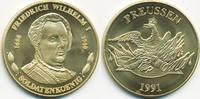 vergoldete Kupfer/Nickel Medaille 1991 BRD Friedrich Wilhelm I. - Solda... 7,00 EUR  zzgl. 1,20 EUR Versand