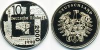 Kupfer/Nickel Medaille 2000 BRD 10 Jahre Deutsche Einheit ex Polierte P... 2,00 EUR  zzgl. 1,20 EUR Versand