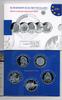 5x 10 Euro 2006 BRD Gedenkmünzen Set 2006 im Blister Polierte Platte/Pr... 95,00 EUR  zzgl. 3,80 EUR Versand
