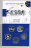5x 10 Euro 2007 BRD Gedenkmünzen Set 2007 im Blister Polierte Platte/Pr... 95,00 EUR  zzgl. 3,80 EUR Versand