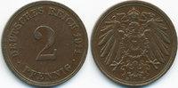 2 Pfennig 1911 D Kaiserreich großer Adler - Kupfer sehr schön/vorzüglic... 2,50 EUR  zzgl. 1,20 EUR Versand