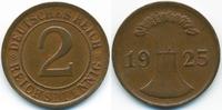 2 Reichspfennig 1925 D Weimarer Republik großer Adler - Kupfer gutes vo... 3,50 EUR  zzgl. 1,20 EUR Versand