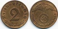 2 Reichspfennig 1940 D Drittes Reich Kupfer sehr schön/vorzüglich - ger... 3,50 EUR  zzgl. 1,20 EUR Versand