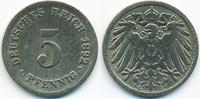 5 Pfennig 1892 G Kaiserreich großer Adler - Kupfer/Nickel schön/sehr sc... 8,50 EUR  +  2,00 EUR shipping