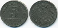 5 Pfennig 1922 D Ersatzmünze 1.WK Eisen fast vorzüglich - etwas schwach... 0,80 EUR  zzgl. 1,20 EUR Versand