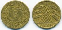 5 Rentenpfennig 1924 E Weimarer Republik Kupfer/Aluminium sehr schön  0,80 EUR  zzgl. 1,20 EUR Versand