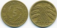 5 Rentenpfennig 1924 G Weimarer Republik Kupfer/Aluminium sehr schön+  1,20 EUR  +  2,00 EUR shipping