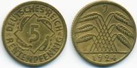 5 Rentenpfennig 1924 J Weimarer Republik Kupfer/Aluminium sehr schön+  1,20 EUR  zzgl. 1,20 EUR Versand