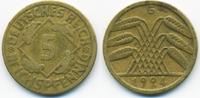 5 Reichspfennig 1924 G Weimarer Republik Kupfer/Aluminium sehr schön - ... 1,50 EUR  +  2,00 EUR shipping