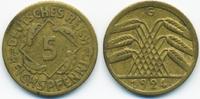 5 Reichspfennig 1924 G Weimarer Republik Kupfer/Aluminium sehr schön  1,80 EUR  +  2,00 EUR shipping