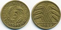 5 Reichspfennig 1925 J Weimarer Republik Kupfer/Aluminium sehr schön+  3,00 EUR  +  2,00 EUR shipping