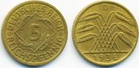 5 Reichspfennig 1936 D Weimarer Republik Kupfer/Aluminium sehr schön/vo... 1,40 EUR  zzgl. 1,20 EUR Versand