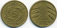 5 Reichspfennig 1936 F Weimarer Republik Kupfer/Aluminium vorzüglich  3,00 EUR  +  2,00 EUR shipping