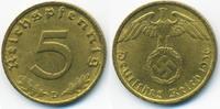 5 Reichspfennig 1936 D Drittes Reich Kupfer/Aluminium fast vorzüglich  120,00 EUR kostenloser Versand