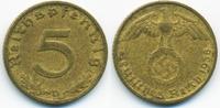 5 Reichspfennig 1938 D Drittes Reich Kupfer/Aluminium sehr schön - mini... 0,80 EUR  zzgl. 1,20 EUR Versand