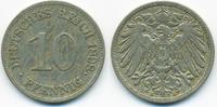 10 Pfennig 1898 E Kaiserreich großer Adler - Kupfer/Nickel sehr schön  3,20 EUR  zzgl. 1,20 EUR Versand