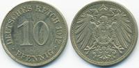 10 Pfennig 1912 E Kaiserreich großer Adler - Kupfer/Nickel sehr schön/v... 2,20 EUR  +  2,00 EUR shipping