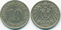 10 Pfennig 1913 E Kaiserreich großer Adler - Kupfer/Nickel sehr schön+ ... 1,00 EUR  zzgl. 1,20 EUR Versand