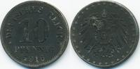 10 Pfennig 1916 F Ersatzmünze 1.WK Eisen fast vorzüglich - minimal flec... 3,00 EUR  zzgl. 1,20 EUR Versand
