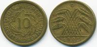 10 Rentenpfennig 1923 D Weimarer Republik Kupfer/Aluminium sehr schön -... 6,00 EUR  zzgl. 1,20 EUR Versand