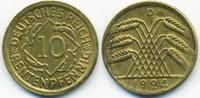 10 Rentenpfennig 1924 D Weimarer Republik Kupfer/Aluminium fast vorzügl... 2,00 EUR  +  2,00 EUR shipping
