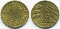10 Rentenpfennig 1924 F Weimarer Republik Kupfer/Aluminium sehr schön  0,80 EUR  zzgl. 1,20 EUR Versand