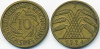 10 Reichspfennig 1924 J Weimarer Republik Kupfer/Aluminium sehr schön  1,80 EUR  zzgl. 1,20 EUR Versand