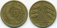 10 Reichspfennig 1929 G Weimarer Republik Kupfer/Aluminium sehr schön+  4,50 EUR  +  2,00 EUR shipping