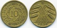 10 Reichspfennig 1931 D Weimarer Republik Kupfer/Aluminium sehr schön+  45,00 EUR  +  6,50 EUR shipping