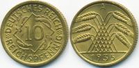 10 Reichspfennig 1935 A Weimarer Republik Kupfer/Aluminium prägefrisch/... 7,00 EUR  zzgl. 1,20 EUR Versand