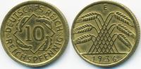 10 Reichspfennig 1936 E Weimarer Republik Kupfer/Aluminium sehr schön+ ... 2,50 EUR  +  2,00 EUR shipping