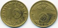 10 Reichspfennig 1937 A Drittes Reich Kupfer/Aluminium sehr schön+ - mi... 1,00 EUR  +  2,00 EUR shipping