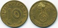 10 Reichspfennig 1939 F Drittes Reich Kupfer/Aluminium sehr schön - min... 1,20 EUR  zzgl. 1,20 EUR Versand
