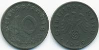 10 Reichspfennig 1940 D Drittes Reich Zink fast vorzüglich  3,50 EUR  zzgl. 1,20 EUR Versand