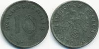10 Reichspfennig 1940 E Drittes Reich Zink fast vorzüglich  4,00 EUR  +  2,00 EUR shipping