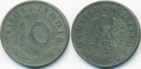 10 Reichspfennig 1940 F Drittes Reich Zink sehr schön+  3,50 EUR  zzgl. 1,20 EUR Versand