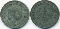 10 Reichspfennig 1941 A Drittes Reich Zink sehr schön+ - minimal fleckig  0,60 EUR  zzgl. 1,20 EUR Versand