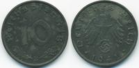 10 Reichspfennig 1941 B Drittes Reich Zink vorzüglich - minimal fleckig  2,50 EUR  +  2,00 EUR shipping