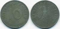10 Reichspfennig 1943 A Drittes Reich Zink sehr schön+ - etwas rau  0,60 EUR  zzgl. 1,20 EUR Versand