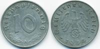 10 Reichspfennig 1944 A Drittes Reich Zink sehr schön+ - gereinigt  1,00 EUR  zzgl. 1,20 EUR Versand