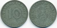 10 Reichspfennig 1944 D Drittes Reich Zink gutes sehr schön  2,80 EUR  +  2,00 EUR shipping