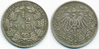 1/2 Mark 1905 D Kaiserreich Silber fast sehr schön  2,20 EUR  +  2,00 EUR shipping