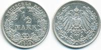 1/2 Mark 1906 D Kaiserreich Silber sehr schön/vorzüglich - leicht gerei... 3,00 EUR  +  2,00 EUR shipping