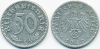 50 Reichspfennig 1940 F Drittes Reich Aluminium sehr schön+  6,50 EUR  +  2,00 EUR shipping