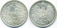 1 Mark 1905 D Kaiserreich großer Adler - Silber prägefrisch/stempelglan... 20,00 EUR  zzgl. 3,80 EUR Versand