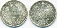 1 Mark 1911 D Kaiserreich großer Adler - Silber prägefrisch/stempelglan... 79,00 EUR  zzgl. 3,80 EUR Versand