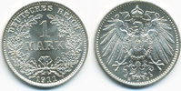 1 Mark 1911 E Kaiserreich großer Adler - Silber stempelglanz  49,00 EUR  zzgl. 3,80 EUR Versand